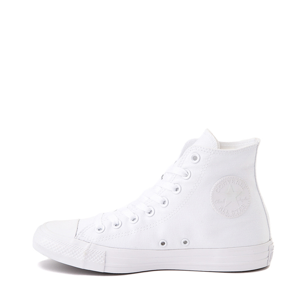 alternate view Converse Chuck Taylor All Star Hi Sneaker - White MonochromeALT1