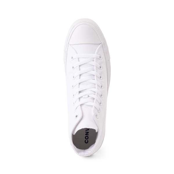 alternate view Converse Chuck Taylor All Star Hi Sneaker - White MonochromeALT2