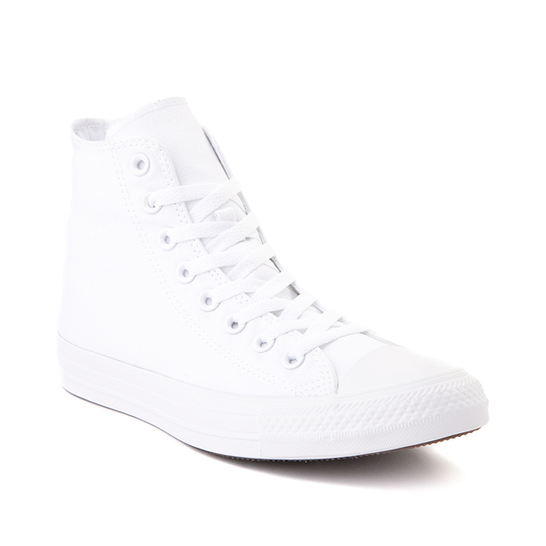 alternate view Converse Chuck Taylor All Star Hi Sneaker - White MonochromeALT5