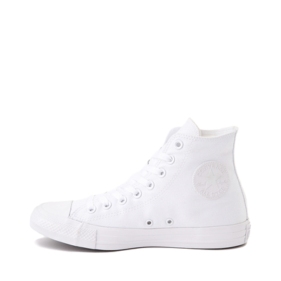 Alternate view of Converse Chuck Taylor All Star Hi Monochrome Sneaker - White