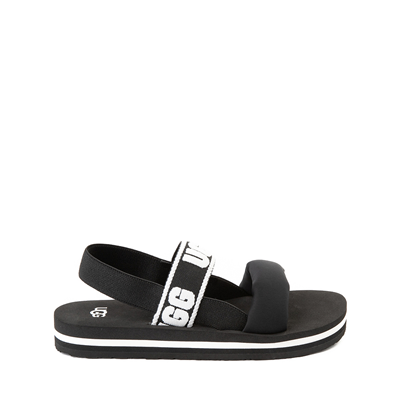 Main view of UGG® Zuma Sling Sandal - Little Kid / Big Kid - Black