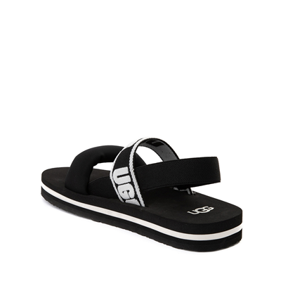 Alternate view of UGG® Zuma Sling Sandal - Little Kid / Big Kid - Black