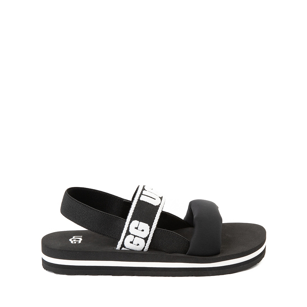 UGG® Zuma Sling Sandal - Little Kid / Big Kid - Black