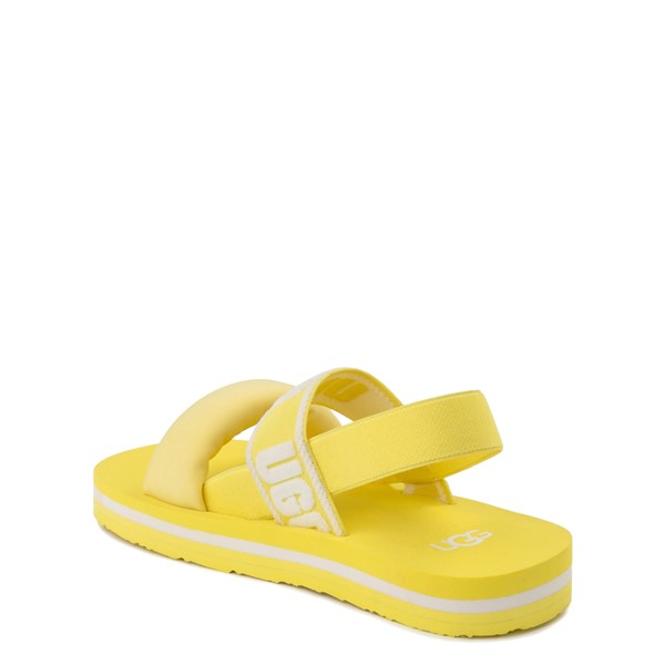 alternate view UGG® Zuma Sling Sandal - Little Kid / Big Kid - LemonadeALT1