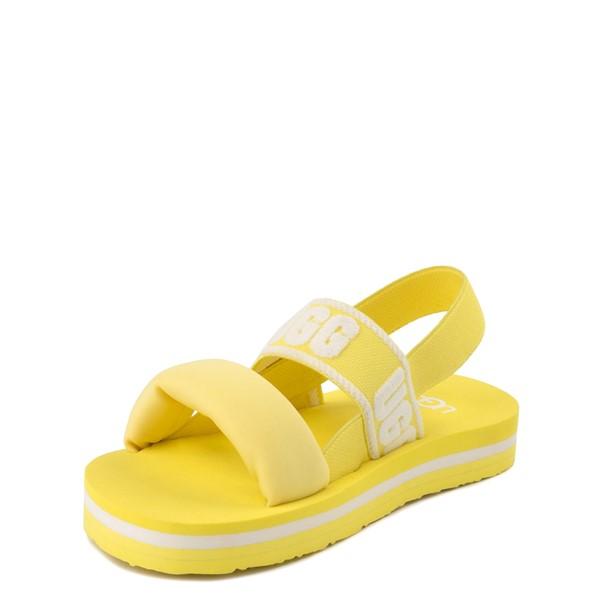 alternate view UGG® Zuma Sling Sandal - Little Kid / Big Kid - LemonadeALT2