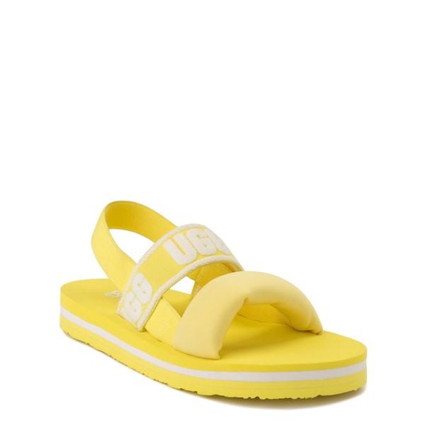 alternate view UGG® Zuma Sling Sandal - Little Kid / Big Kid - LemonadeALT5