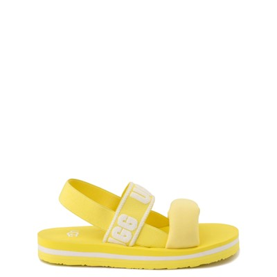 Main view of UGG® Zuma Sling Sandal - Little Kid / Big Kid - Lemonade
