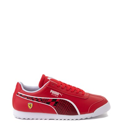 Main view of Mens Puma Scuderia Ferrari Roma Athletic Shoe - Red / Black