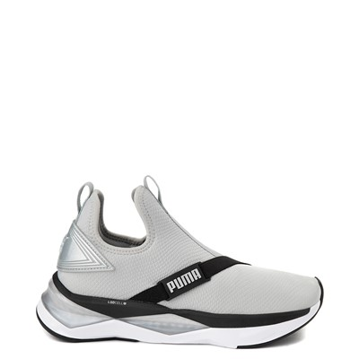 Main view of Womens Puma LQDCELL Shatter Mid Athletic Shoe - Gray / Black
