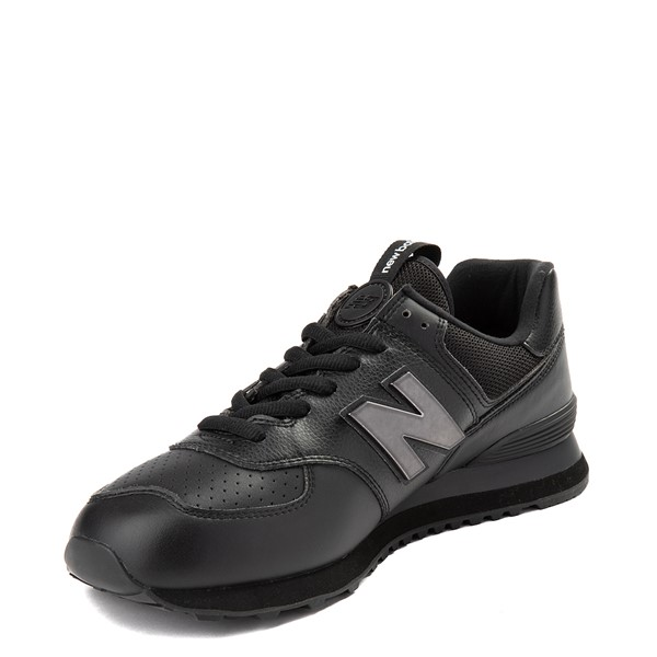 alternate view Mens New Balance 574 Metal Athletic Shoe - BlackALT2