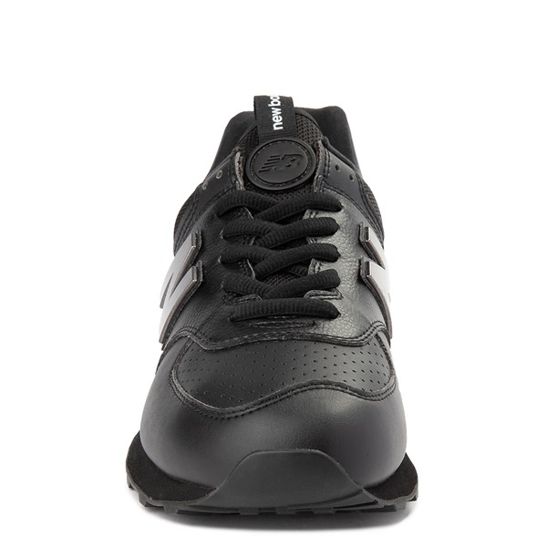 alternate view Mens New Balance 574 Metal Athletic Shoe - BlackALT4