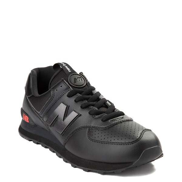 alternate view Mens New Balance 574 Metal Athletic Shoe - BlackALT5
