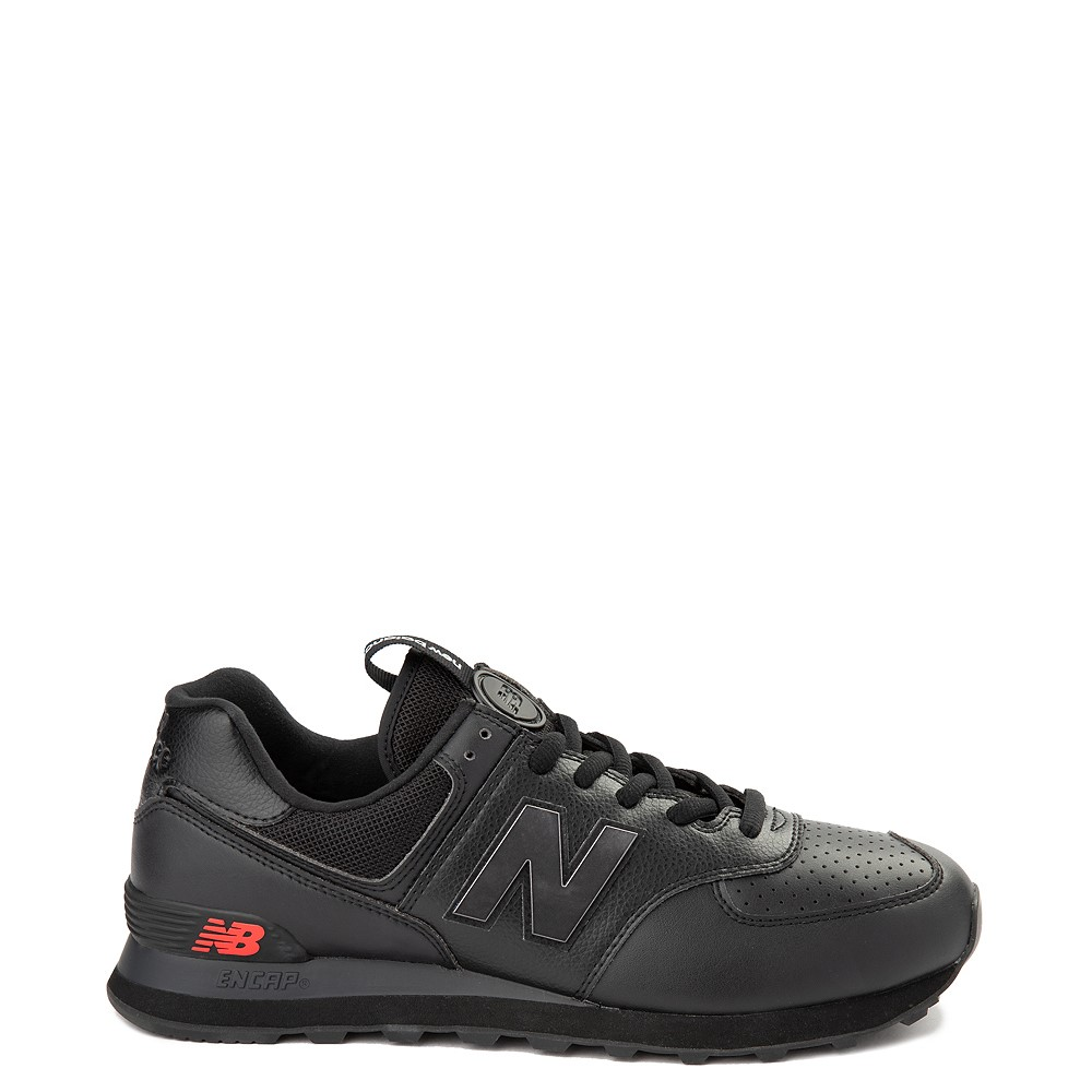 mañana biblioteca Pekkadillo  Mens New Balance 574 Metal Athletic Shoe - Black | Journeys