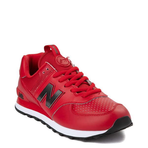 Alternate view of Mens New Balance 574 Metal Athletic Shoe - Red