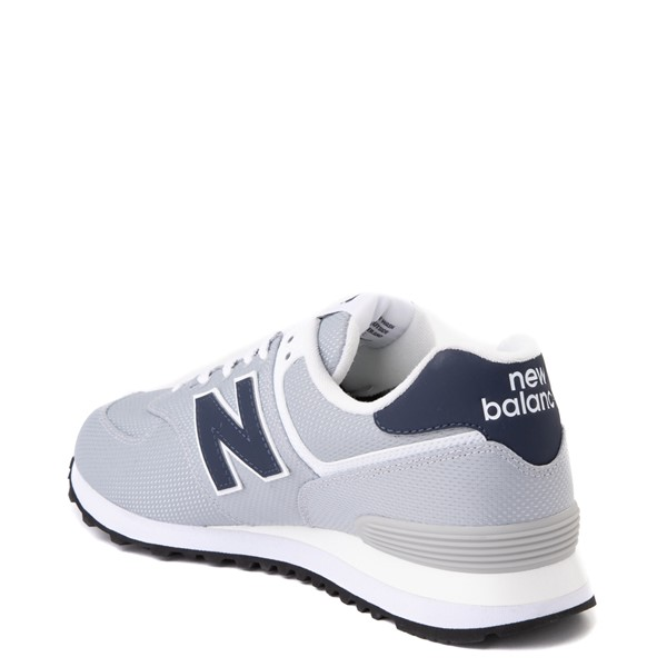 alternate view Mens New Balance 574 Summer Mesh Athletic Shoe - Gray / NavyALT1