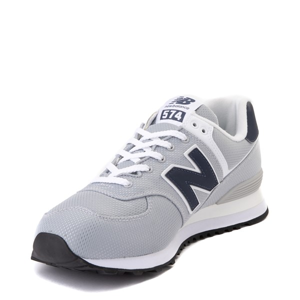 alternate view Mens New Balance 574 Summer Mesh Athletic Shoe - Gray / NavyALT2