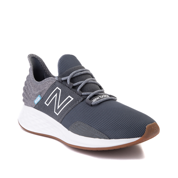 alternate view Mens New Balance Fresh Foam Roav Athletic Shoe - Natural Indigo / Light AluminumALT5