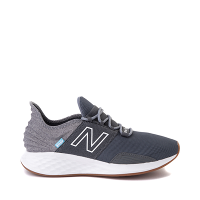 Main view of Mens New Balance Fresh Foam Roav Athletic Shoe - Natural Indigo / Light Aluminum