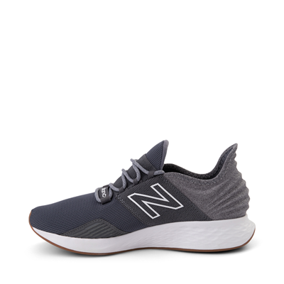 Alternate view of Mens New Balance Fresh Foam Roav Athletic Shoe - Natural Indigo / Light Aluminum