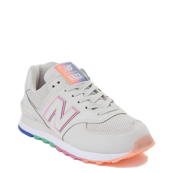 alternate view Womens New Balance 574 Outer Glow Athletic Shoe - Stone / MultiALT1
