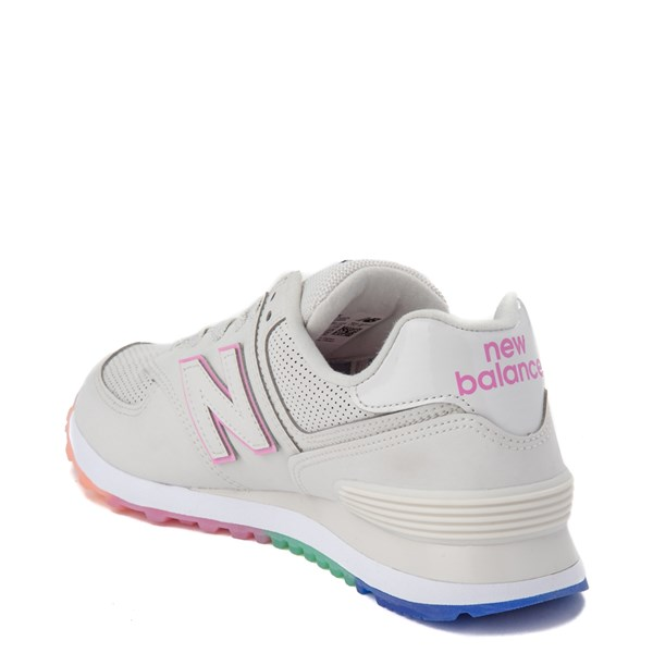 alternate view Womens New Balance 574 Outer Glow Athletic Shoe - Stone / MultiALT2