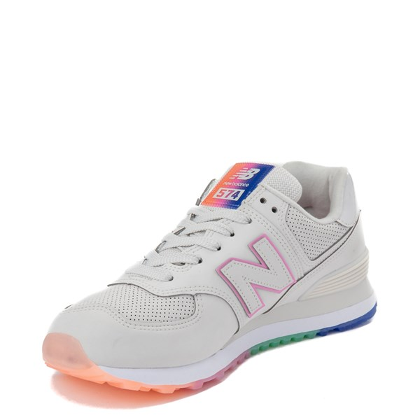 alternate view Womens New Balance 574 Outer Glow Athletic Shoe - Stone / MultiALT3