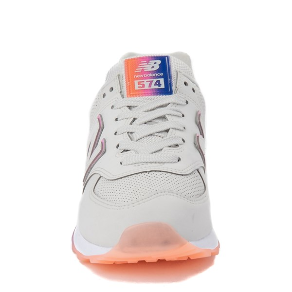 alternate view Womens New Balance 574 Outer Glow Athletic Shoe - Stone / MultiALT4