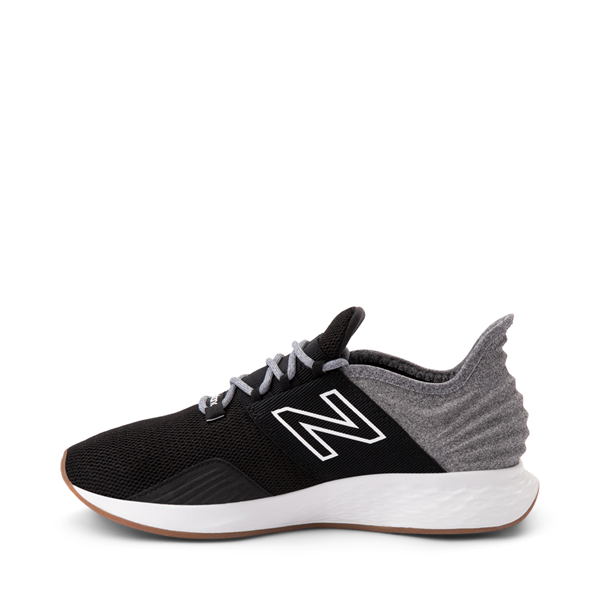 alternate view Womens New Balance Fresh Foam Roav Athletic Shoe - Black / Light AluminumALT1