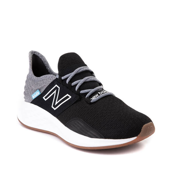 alternate view Womens New Balance Fresh Foam Roav Athletic Shoe - Black / Light AluminumALT5