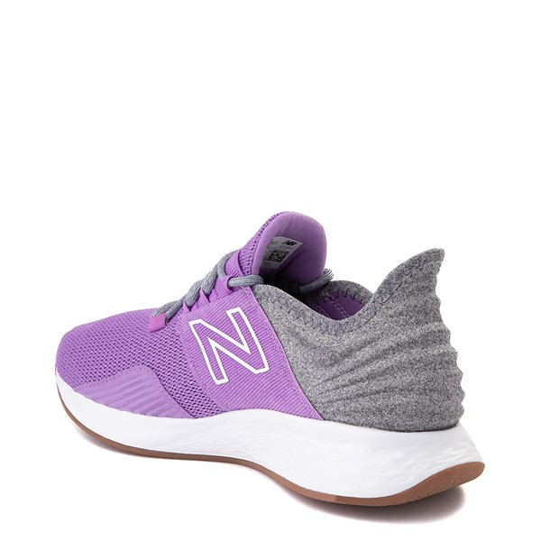 alternate view Womens New Balance Fresh Foam Roav Athletic Shoe - Neo Violet / Light AluminumALT1