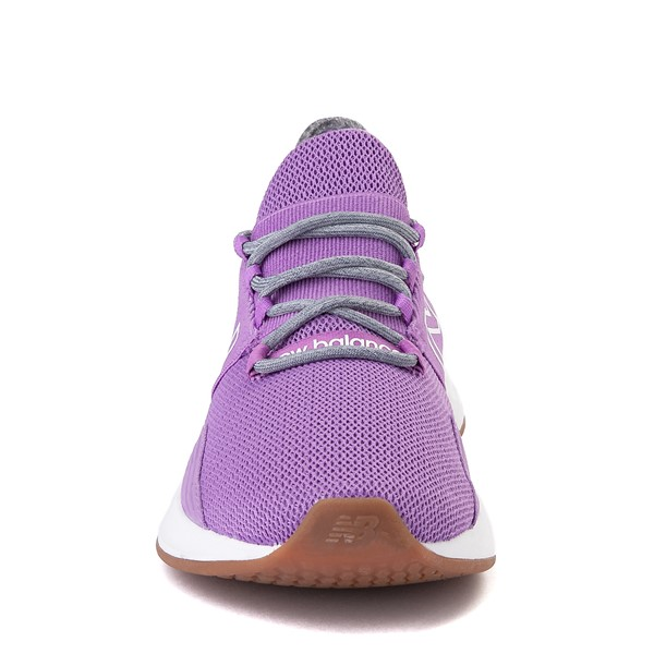 alternate view Womens New Balance Fresh Foam Roav Athletic Shoe - Neo Violet / Light AluminumALT4