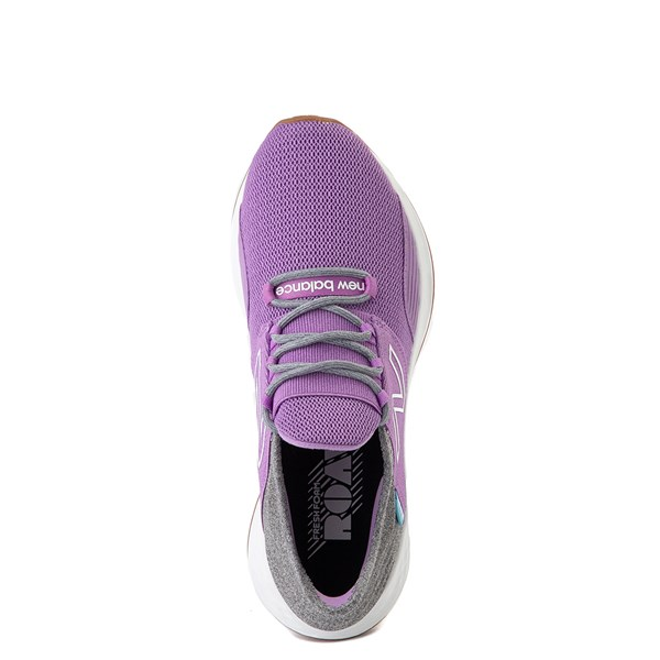 alternate view Womens New Balance Fresh Foam Roav Athletic Shoe - Neo Violet / Light AluminumALT4B