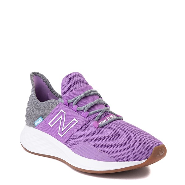 alternate view Womens New Balance Fresh Foam Roav Athletic Shoe - Neo Violet / Light AluminumALT5