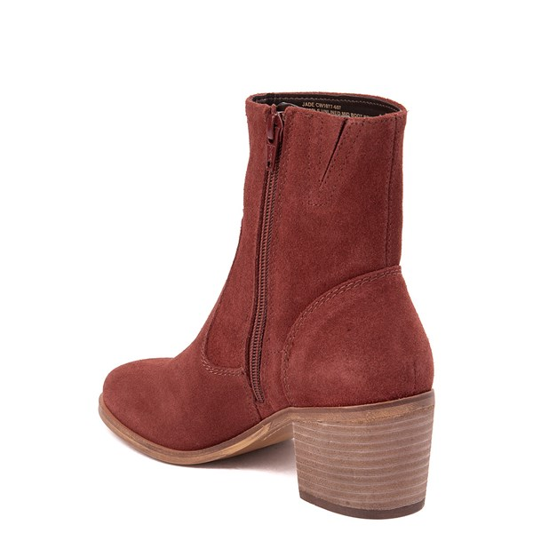 alternate view Womens Crevo Jade Ankle Boot - Brick RedALT2