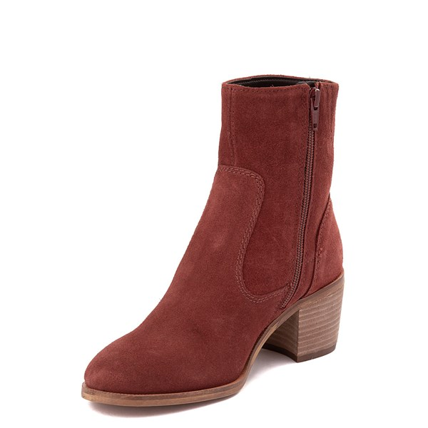 alternate view Womens Crevo Jade Ankle Boot - Brick RedALT3