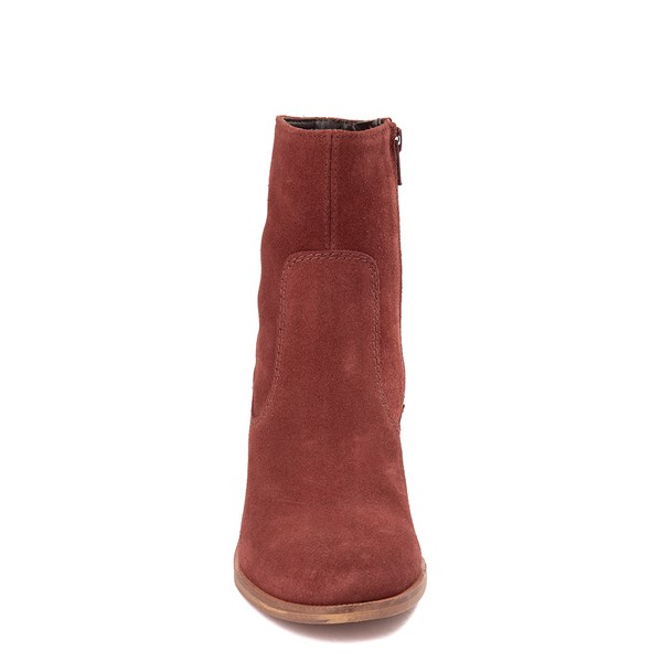 alternate view Womens Crevo Jade Ankle Boot - Brick RedALT4