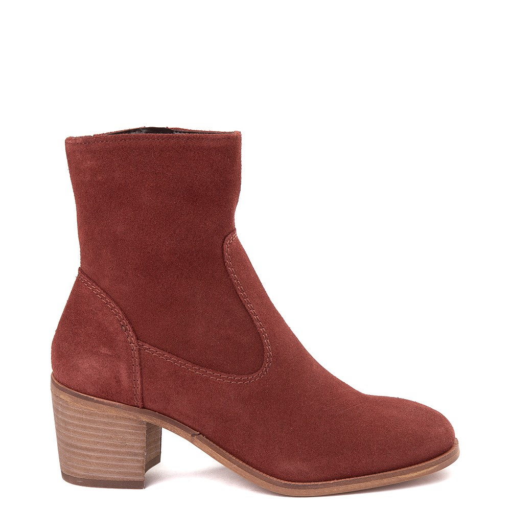 Womens Crevo Jade Ankle Boot - Brick Red