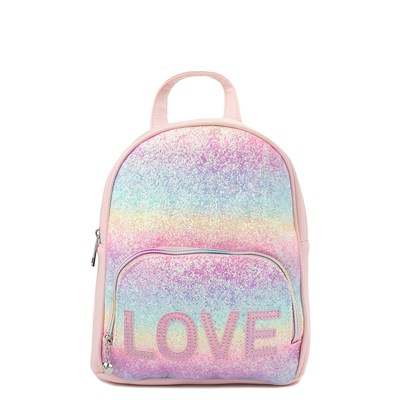 Main view of Rainbow Love Mini Backpack