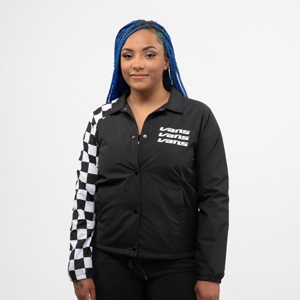 Womens Vans Thanks Coach Superspeedee Coaches Jacket - Black