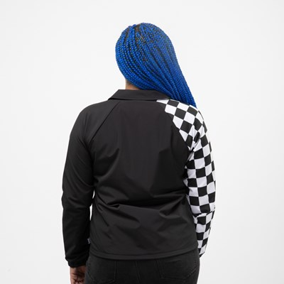Alternate view of Womens Vans Thanks Coach Superspeedee Coaches Jacket - Black
