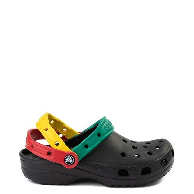 Main view of Crocs Classic Triple Strap Clog - Black / Multi