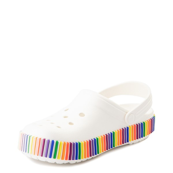 alternate view Crocs Classic Color Spectrum Clog - WhiteALT2