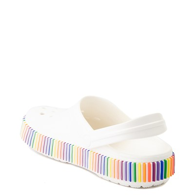 Alternate view of Crocs Classic Color Spectrum Clog - White