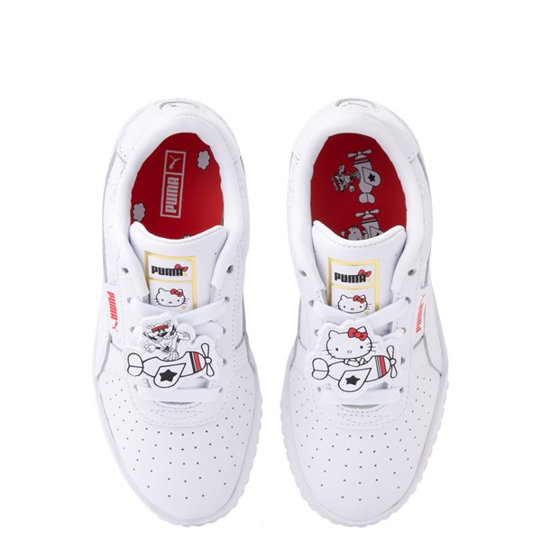Main view of Puma x Hello Kitty® Cali Athletic Shoe - Little Kid / Big Kid - White
