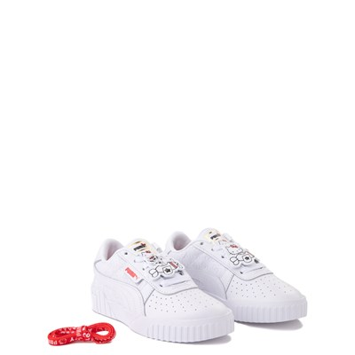 Alternate view of Puma x Hello Kitty® Cali Athletic Shoe - Little Kid / Big Kid - White