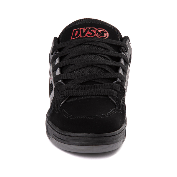 alternate view Mens DVS Comanche Skate Shoe - Black / Gray / RedALT4