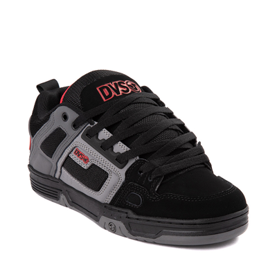 Alternate view of Mens DVS Comanche Skate Shoe - Black / Gray / Red