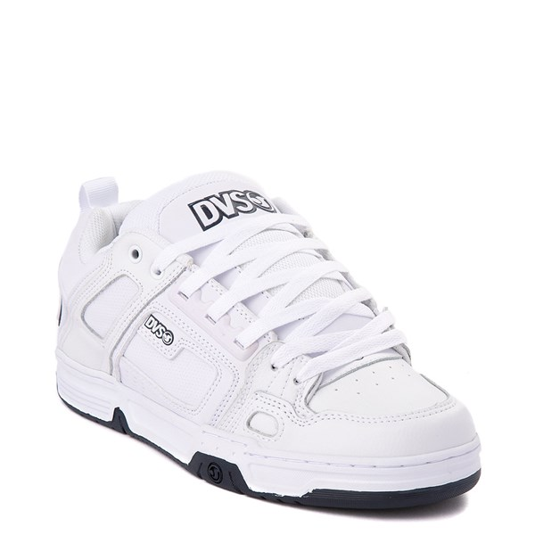 alternate view Mens DVS Comanche Skate Shoe - White / NavyALT1