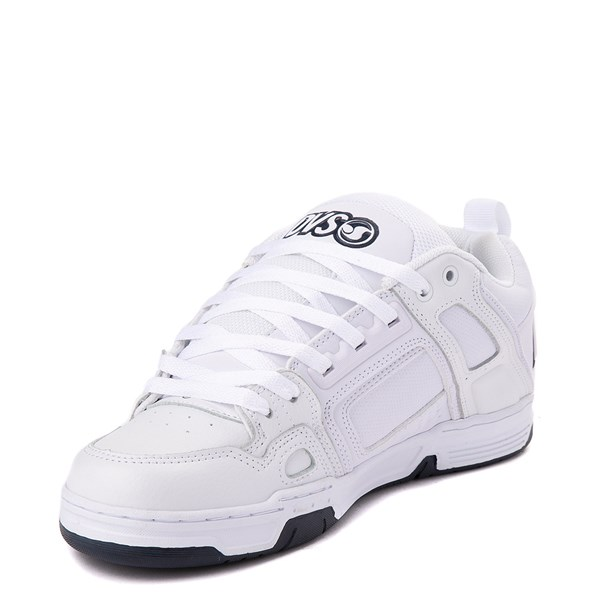 alternate view Mens DVS Comanche Skate Shoe - White / NavyALT3
