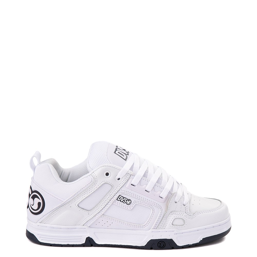 Mens DVS Comanche Skate Shoe - White / Navy